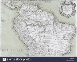 Map Of Northern South America by 1745 Map Of Northern South American Continent Showing Colonial
