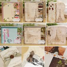 scrapbooking albums eno greeting vintage photo album scrapbook kit diy complete