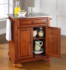 Natural Wood Kitchen Island by Buy Alexandria Natural Wood Top Kitchen Island W Round Bun Feet