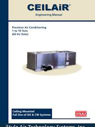 ceilair engineering manual air conditioning heat exchanger