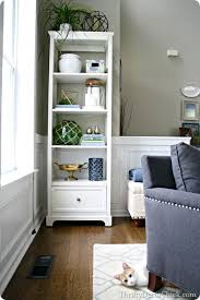Bookshelves Decorating Ideas by Top 25 Best Tall White Bookcase Ideas On Pinterest Tall