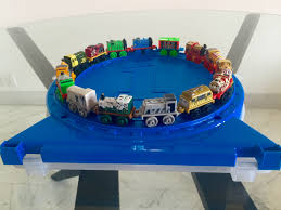 wheels world play table thomas and friends minis collectors play wheel with golden thomas