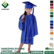 toddler cap and gown children graduation gown wholesale graduation gown suppliers