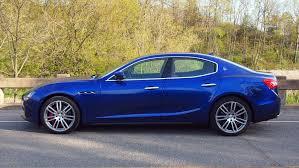 blue maserati ghibli test drive 2016 maserati ghibli s q4 exhausted ca