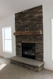 living room real white accent wall design ideas with stone