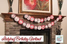 Ladybug Kitchen Decor Ladybug Themed Birthday Party With Free Printables How To Nest