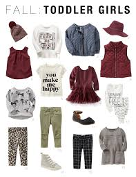 Little Girls Clothing Stores Affordable Fall Capsule Wardrobes For Toddlers