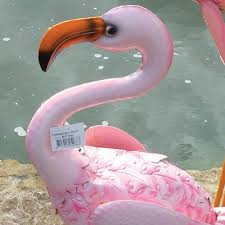 velda pink flamingo pond ornament pondside ornaments water