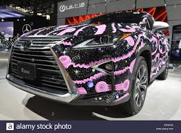 old lexus sports car manhattan new york usa 23rd mar 2016 lexus rx decorated with