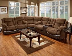 furniture wonderful sectional sofa with recliner and chaise