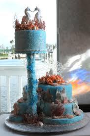 wedding cake toppers theme wedding cakes amazing seahorse wedding cake topper theme wedding