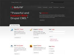 quasar drupal theme free premium drupal 7 theme