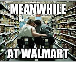 Wife Husband Meme - husband and wife are shopping in their local walmart