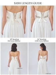 wedding sash wedding sash bridal accessory ë sash davie chiyo