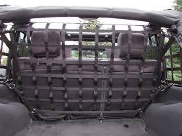 jeep wrangler storage raingler jeep wrangler jk tj lj yj cargo pet divider 105
