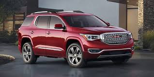 nissan pathfinder vs gmc acadia review gmc acadia loses weight gains little