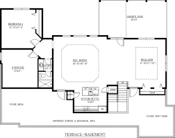 Bar Floor Plans by Craftsman Style House Plan 4 Beds 3 5 Baths 3807 Sq Ft Plan 437