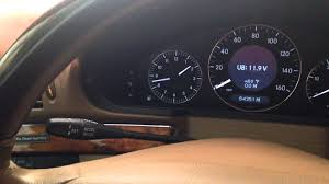 reset service indicator mercedes w211 2008 e320 youtube