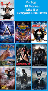 top 10 movies you like but everyone else by dmonahan9 on