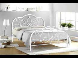 metal frame bed metal frame bunk bed with futon youtube
