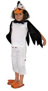 White Ranger Halloween Costume Diy Puffin Costume Kids Cute Headpiece Cape Flip Flops
