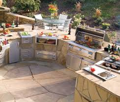 back yard kitchen