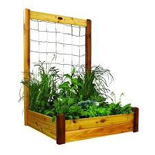 wood raised garden beds garden center the home depot