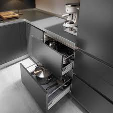 Kitchen Drawers Design Grey Kitchen Cabinets Popular Among Urban People Ruchi Designs