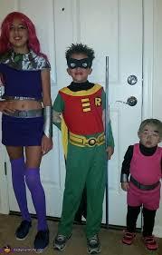 Teen Titans Halloween Costumes Teen Titans Family Costume Photo 2 4
