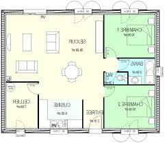 plan plain pied 2 chambres plan maison phenix plain pied 2 chambres