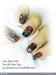 polish off your costume with halloween inspired nail art