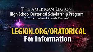 American Legion Flag American Legion Oratorical Contest Youtube