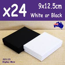 necklace set gift box images 24x necklace set gift box 9x12 5cm plain white or black premium jpg