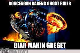 Mad Dog Meme - mad dog boncengan bareng ghost rider 1cak for fun only