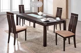 Global Furniture DDT Dark Walnut Dining Table - Walnut dining room chairs