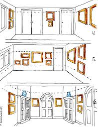How To Hang A Picture Hanging Pictures Around A Room Fred Gonsowski Garden Home