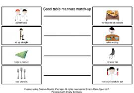 table manners for kids printable teaching good table manners for better social skills during the