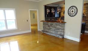 light stained concrete floors stained concrete basement floor concrete craft