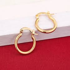 aliexpress buy new arrival fashion 24k gp gold 24k gold earrings fashion new model earrings dubai