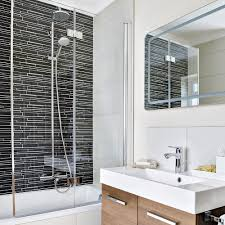 small bathroom ideas with bath and shower optimise your space with these smart small bathroom ideas ideal home