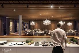 Open Kitchen Restaurant Design Imperial Park Hotel Interiors Freelancers 3d