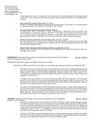 Sap Crm Functional Consultant Resume Sample by Sap Fico Sample Resume Corporate Resume Exles Sap Architect With