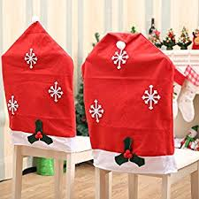 christmas chair covers santa hat christmas chair covers santa clause hat