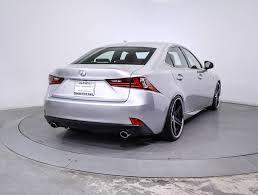 certified lexus is350 sale used 2014 lexus is 350 f sport sedan for sale in miami fl 86016
