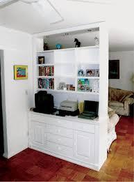 custom made white bedroom wall unit
