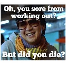 Friday Workout Meme - getting started going to the gym wellness in college
