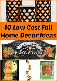 10 low cost fall home decor items u2022 living a frugal life