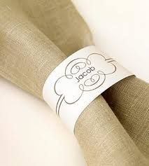 napkin ring ideas paper napkin rings for thanksgiving place settings thoughtfully