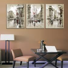 Aliexpress Home Decor Aliexpress Com Buy Home Decor Canvas Painting Abstract City