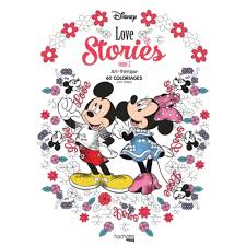 Cahier De Coloriage Adulte Cultura Disney Love Stories tome 2 60